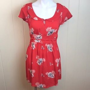 American Eagle Cute Summer Floral Dress Festival